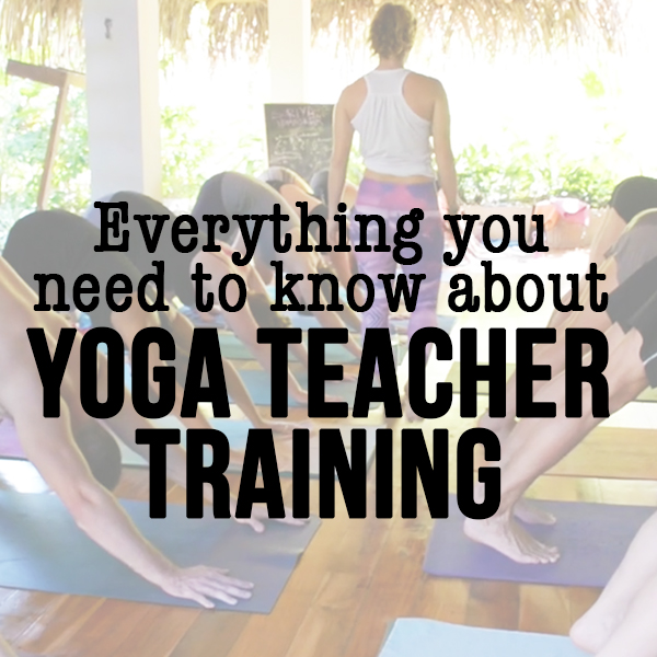 Yoga teacher training need to know