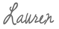 Lauren Signature